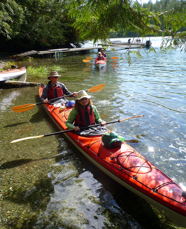 Kayak Tour to Meares Island, Tofino